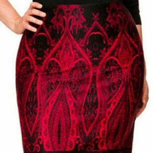 Ashley Stuart Pencil Skirt